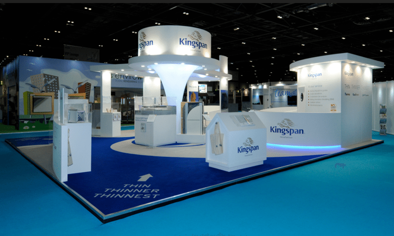 kingspan events stand